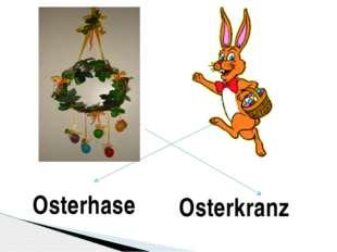 Osterkranz Osterhase