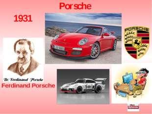 Porsche 1931 Ferdinand Porsche