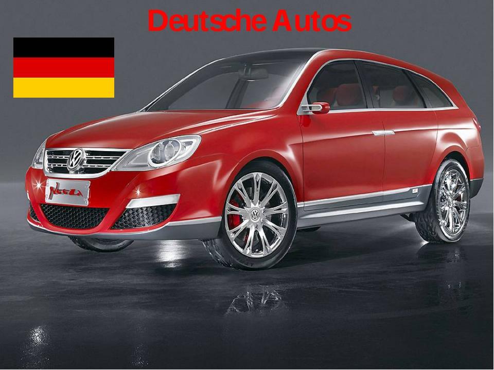 Deutsche Autos