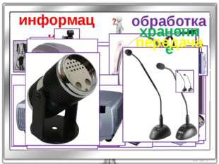 информация обработка хранение передача
