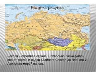 Россия – огромная страна. Привольно раскинулась она от снегов и льдов Крайне