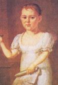 Лермонтов в детстве (1817-1818 год)