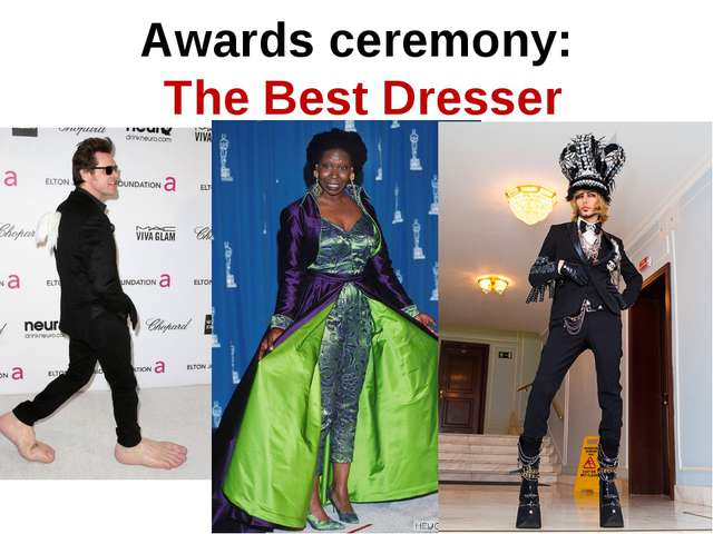 Awards ceremony: The Best Dresser