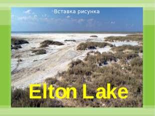 Elton Lake