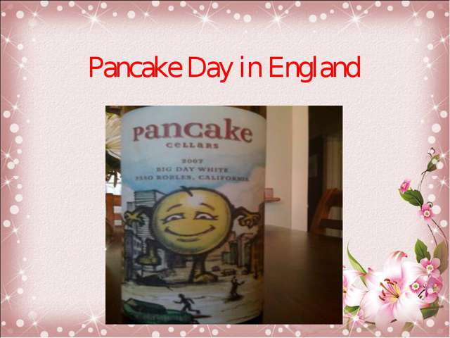 Pancake Day in England