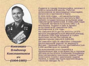 Родился в городе Новороссийск, окончил 3 класса начальной школы. Работал колх