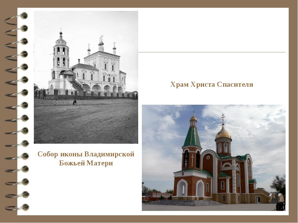 Собор иконы Владимирской Божьей Матери Храм Христа Спасителя