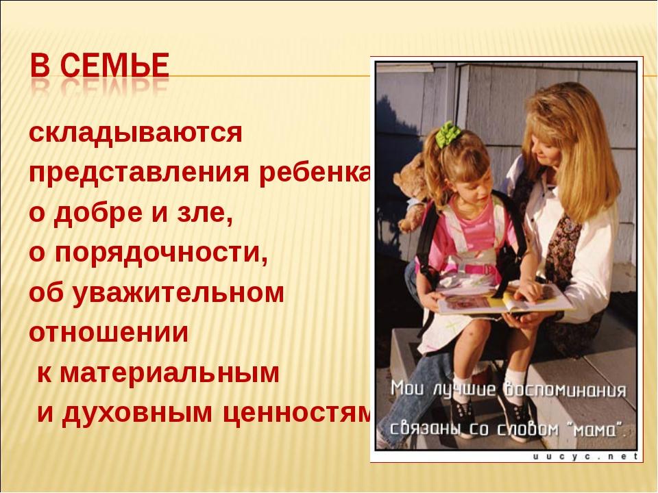 Представление детей на конкурс