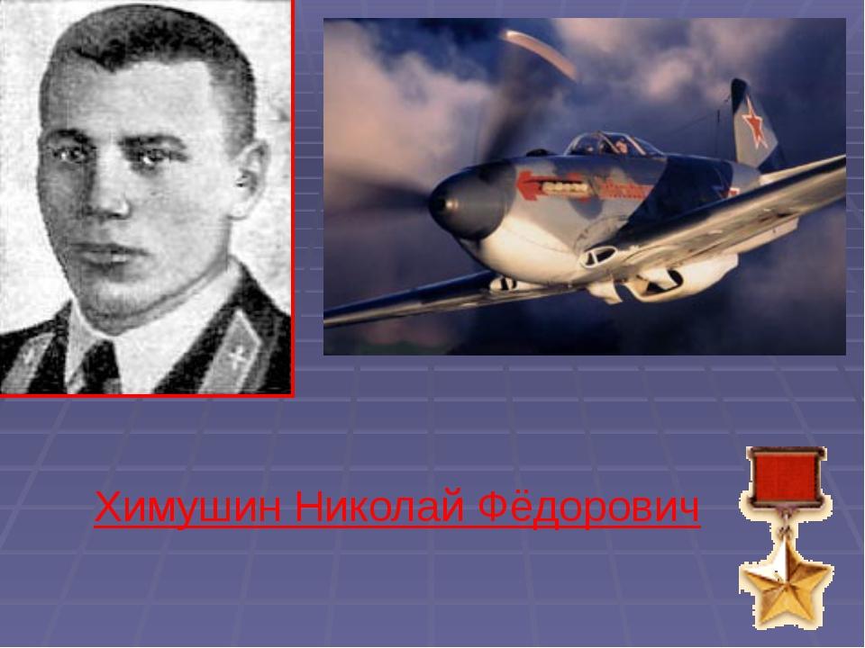 Химушин Николай Фёдорович