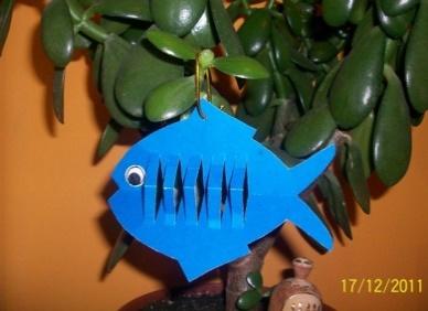 поделки в форме рыбы