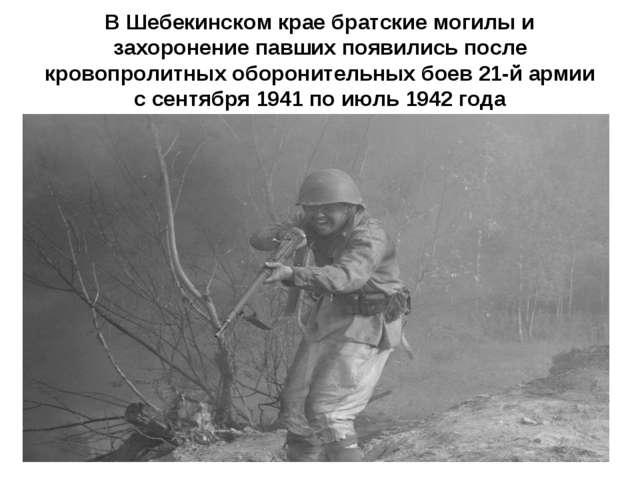 В Шебекинском крае братские могилы и захоронение павших появились после крово...