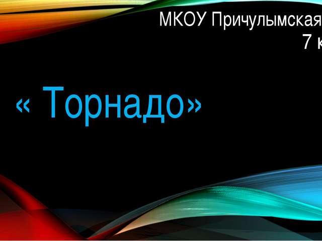 МКОУ Причулымская СОШ 7 класс « Торнадо»