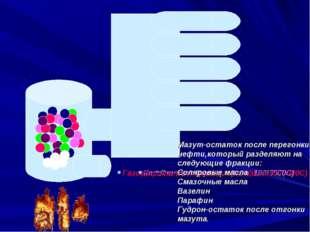Газовая фракция (tкип. до 400С) Газолиновая фракция бензинов(tкип. 40-1800C)