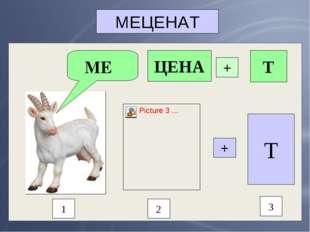 МЕЦЕНАТ МЕ 1 2 3 + Т ЦЕНА + Т