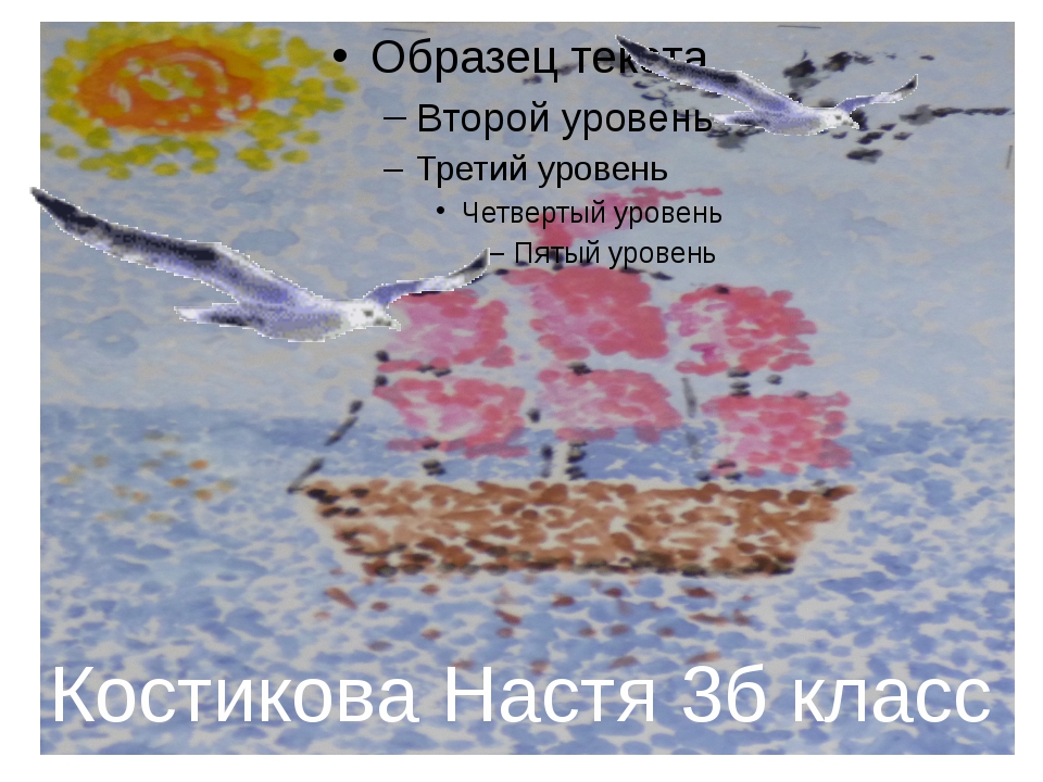 Костикова Настя 3б класс