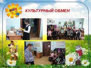 КУЛЬТУРНЫЙ ОБМЕН 61169@mail.ru