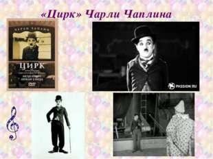 «Цирк» Чарли Чаплина