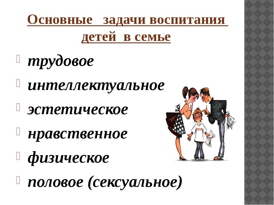 Воспитание детей в семье Реферат Курсовая на тему воспитание детей в семье