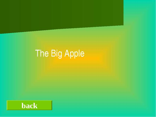 back The Big Apple