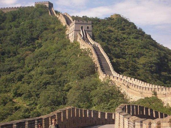 Великая Китайская стена фото красивое