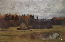 Поздняя осень 1894 — Левитан Исаак Ильич