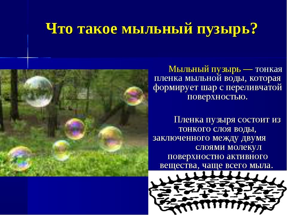 Тайны мыльных пузырей презентация
