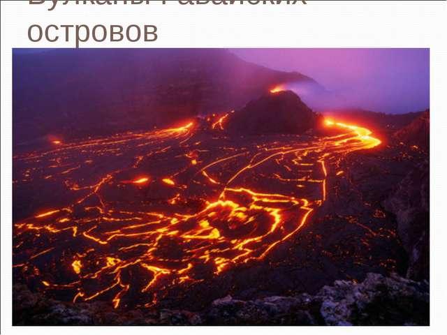 Вулканы Гавайских островов