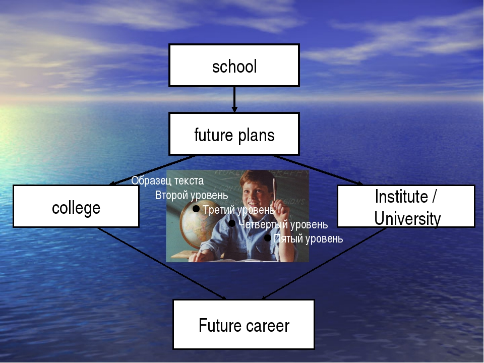 school future plans college Institute / University Future career