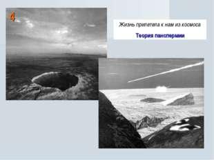 4 Жизнь прилетела к нам из космоса Теория панспермии