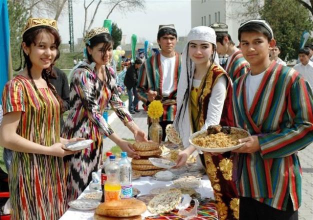 Всероссийский таджикский Новый год