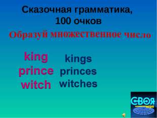 Сказочная грамматика, 100 очков user - null