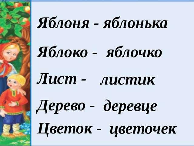 Яблоня - яблонька Яблоко - Лист - Дерево - Цветок - яблочко листик деревце ц...