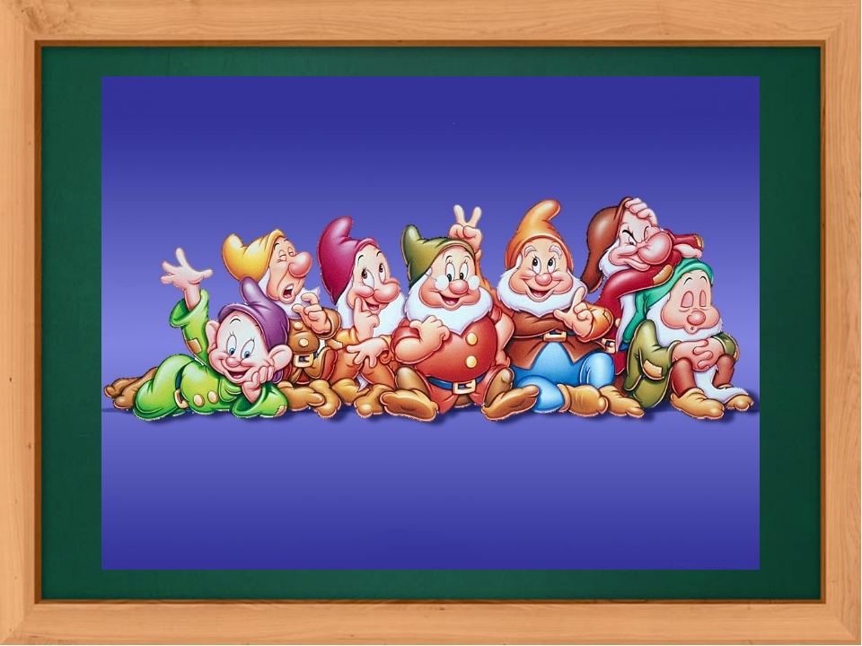 The revision of numbers. How many gnomes can you see on this picture?