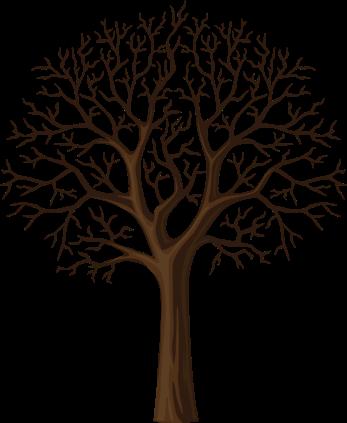 Черный Дерева Ветви Силуэт, Изолированные На Белом Векторные клипарты - ClipartLogo.com