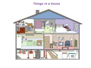 Things in a house