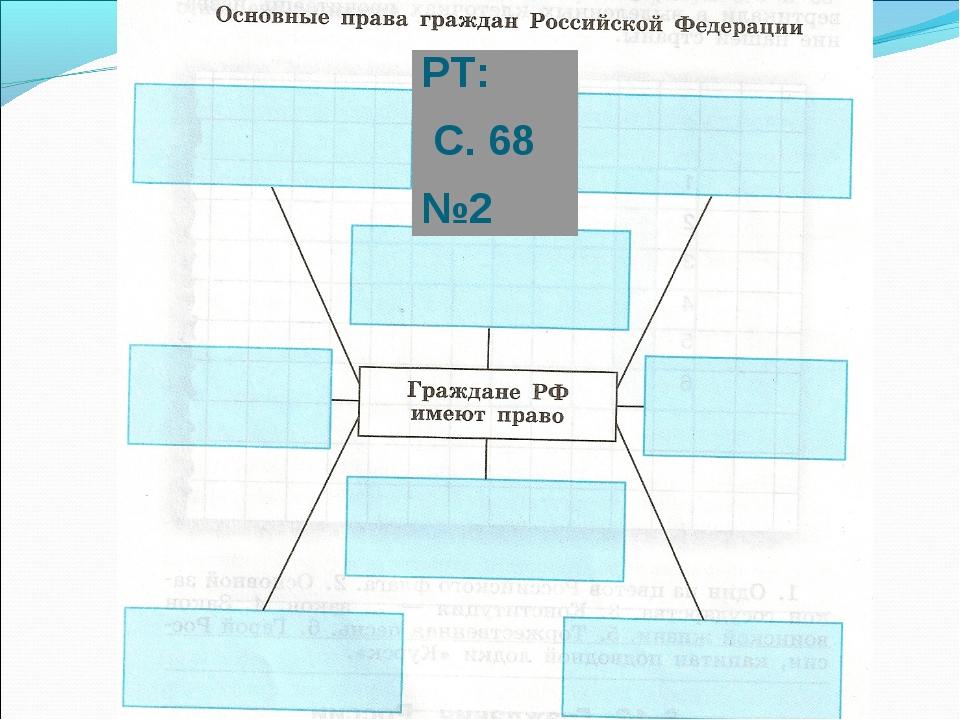 РТ: С. 68 №2