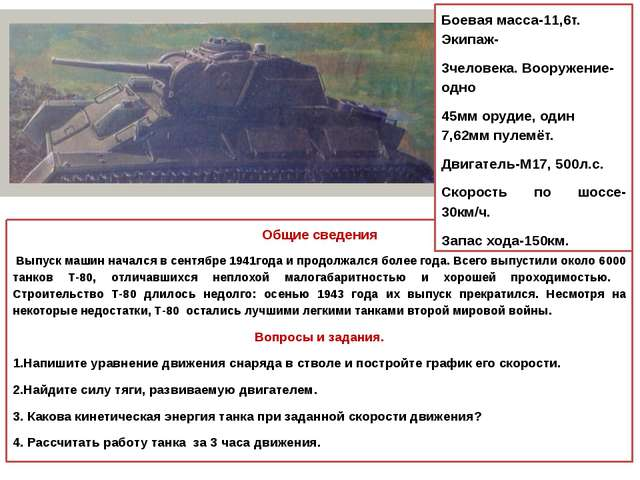 Общие сведения Выпуск машин начался в сентябре 1941года и продолжался более...