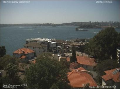 Sydney Harbour Webcam