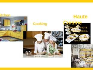 Kitchen Cooking Haute Cuisine