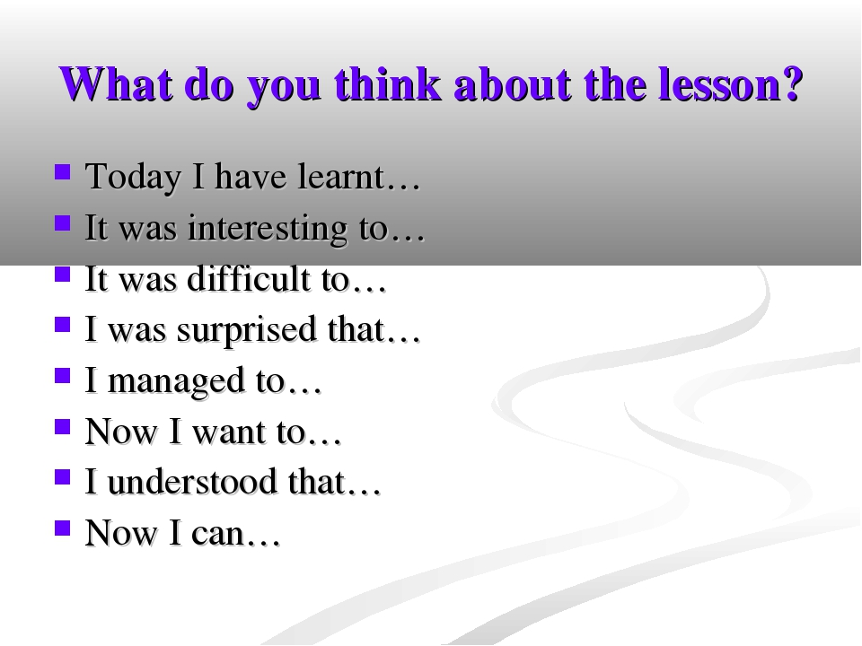 a reflection on lessons learned while attending college level english classes and their transference Recognize who your students are  brown, and cocking, how people learn (2000, p 10) new knowledge is built on existing knowledge thus, when you are planning a class it is important to determine what your students are likely to know coming into your course and (later in the planning process) how well they know it  course-level examples.