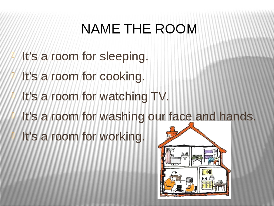 It's a room for sleeping. It's a room for cooking. It's a room for watching T...
