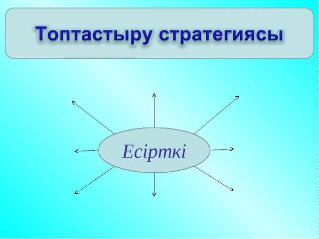 Есірткі