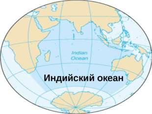 Индийский океан— третий по размеру океан Земли, покрывающий около 20% её в
