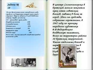 В центре Солнечногорска в братской могиле покоится прах сотен советских воино