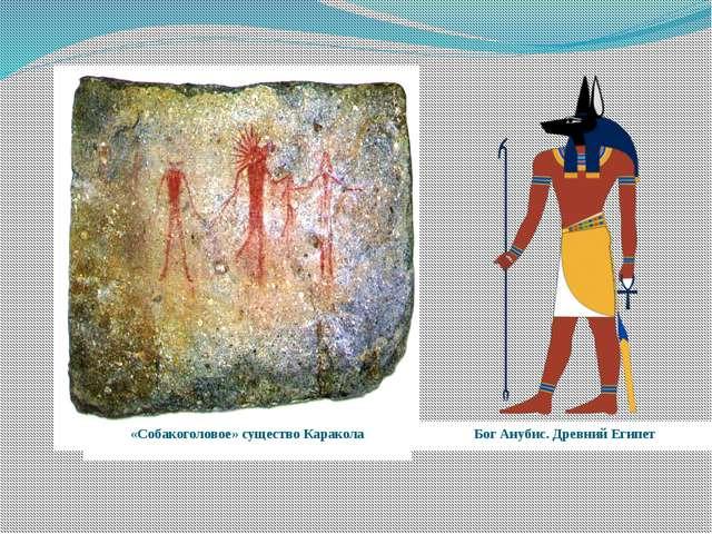 Бог Анубис. Древний Египет «Собакоголовое» существо Каракола
