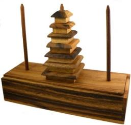 Занимательные головоломки 6 Ханойская башня фото, обсуждение * Форум о журнальных коллекциях Деагостини, Ашет, Eaglemoss