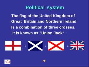 The flag of the United Kingdom of Great Britain and Northern Ireland Is a com