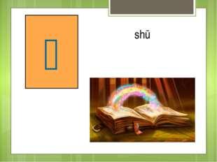 книга 书 shū