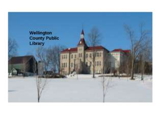 Wellington County Public Library