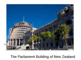 The Parliament Building of New Zealand